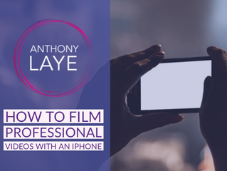 How To Film Professional Videos With An iPhone.