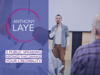 5 Public Speaking Mistakes That Could Ruin Your Credibility