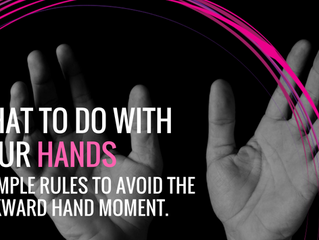 What To Do With Your Hands When Standing.