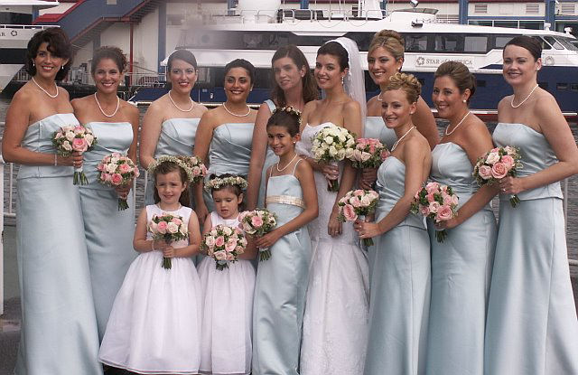 Hair services for large Bridal Party