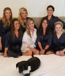 Montauk Wedding Hairstylist on site