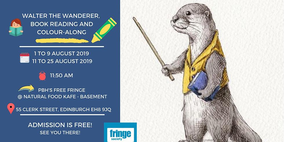 Edinburgh Fringe Festival: Book Reading and Colour-Along Show