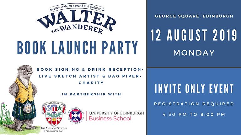 Book Launch Party (Edinburgh, August 2019)