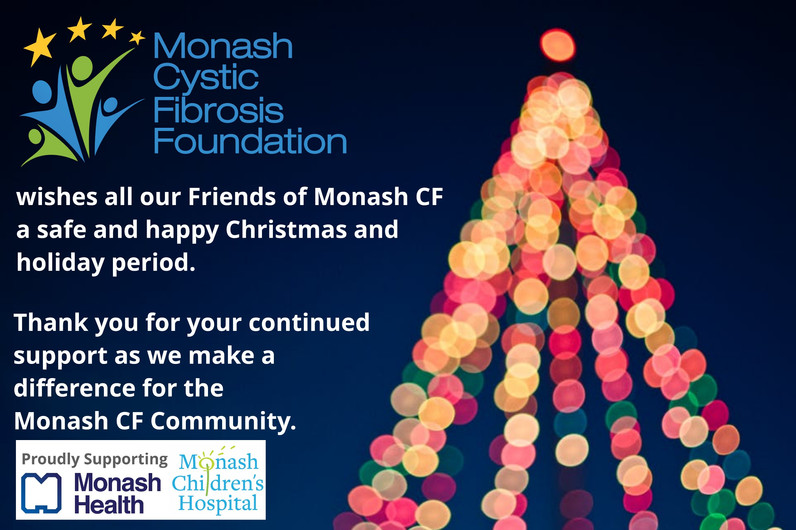 Friends of Monash CF News - 2020 Christmas Edition