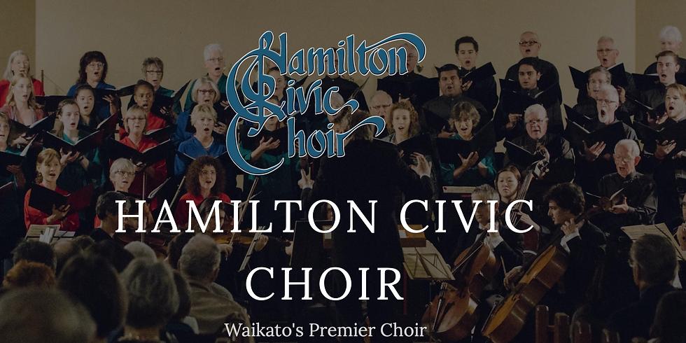 Hamilton Civic Choir - Conducted by Timothy Carpenter