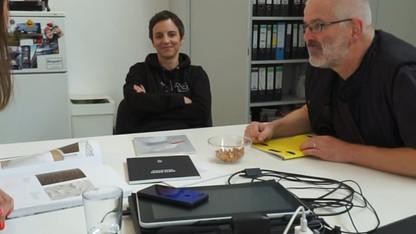 Birte Bosse & Thomas Rentmeister im Gespräch mit Barbara Green
