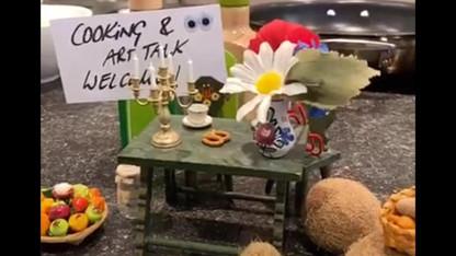 Cooking and Artist Talk with Frederike von Cranach 1/3