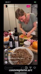 Cooking and Artist Talk with Frederike von Cranach 2/3