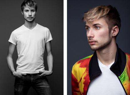 SEDCARD FOTOSHOOTING IN WIEN: Model Fotos für Karlis
