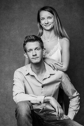 Paar-Wien-Foto-Studio-schwarz-weiß