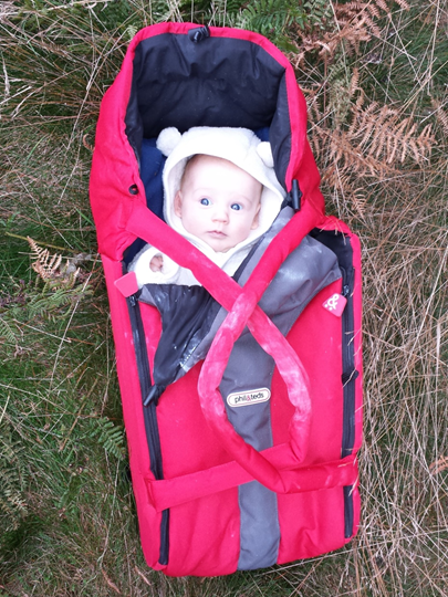 The essential Phil and Teds carry cot