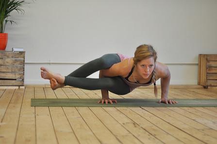 Mina at Unity Yoga Studios, Sheffield