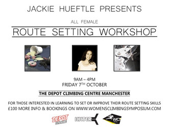 Women's Routesetting Workshop