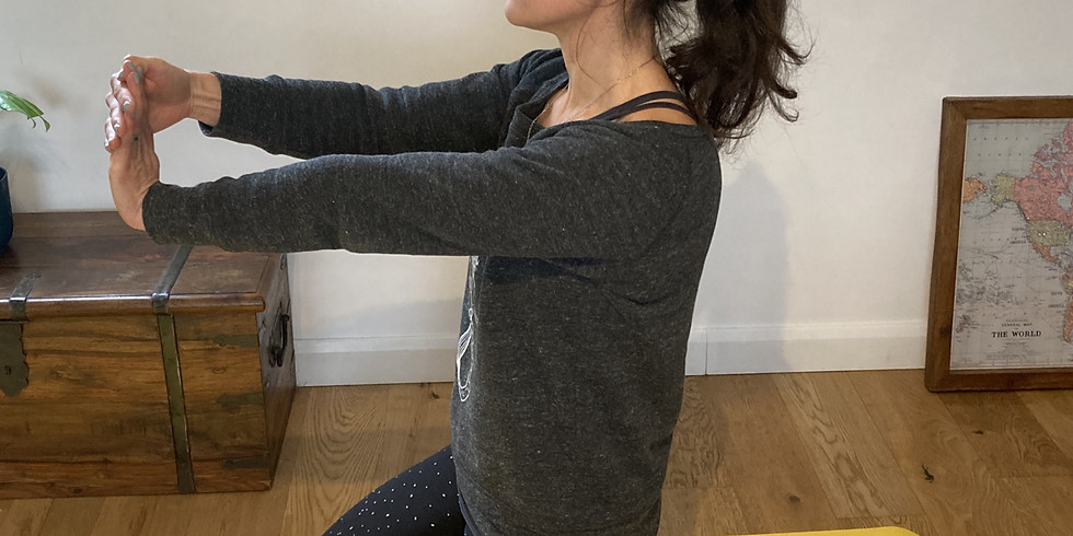 WCS Workouts: Lunchtime yoga stretch (wrists, fingers, ankles, toes) with Rebecca