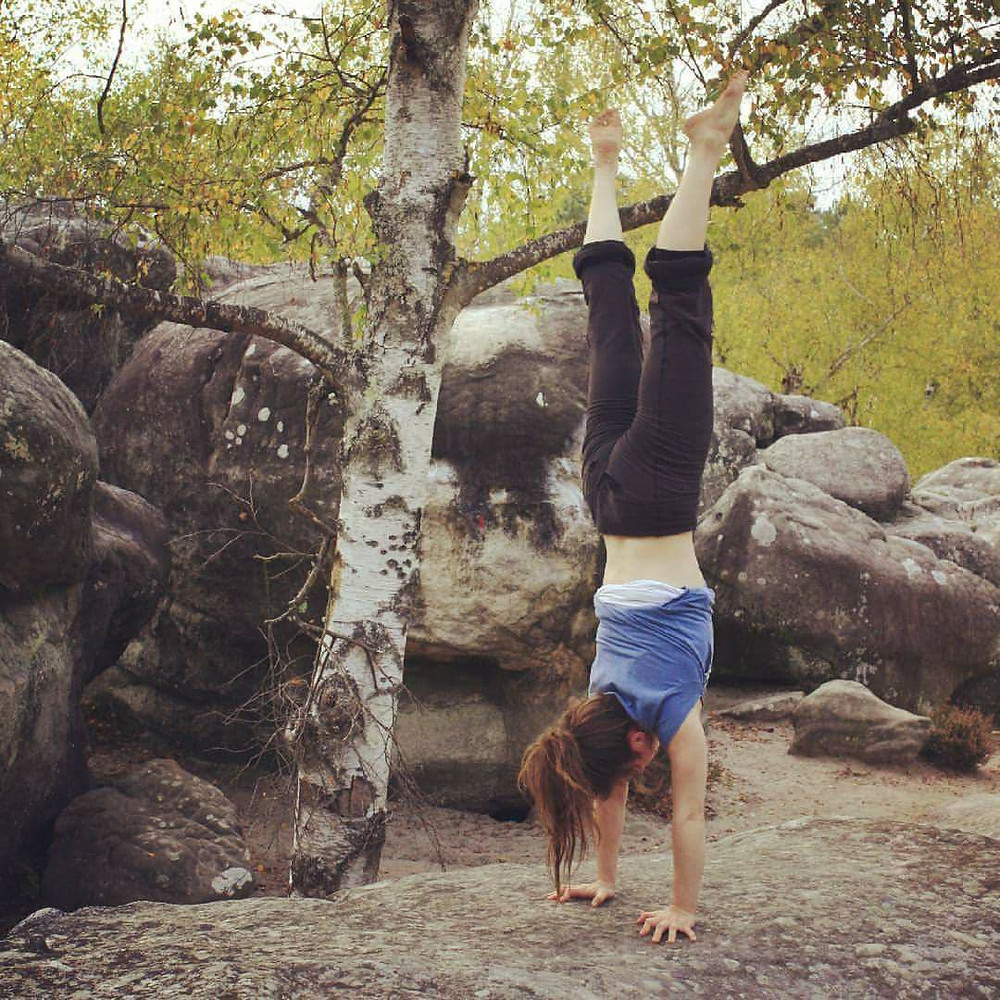 Handstands at Font. Photo: Topher Dagg