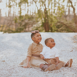Holcomb Gardens Family Session