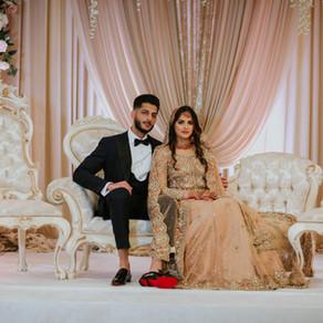 Romantic Desi Wedding: Amaan + Hamda // Cotillion Banquets in Palatine, Illinois