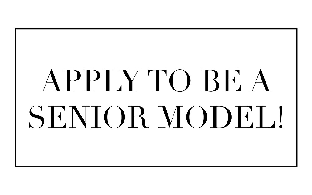 Click this button to apply to be a senior model
