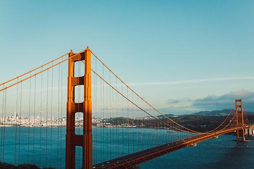 San Fransisco Golden Gate Sunset