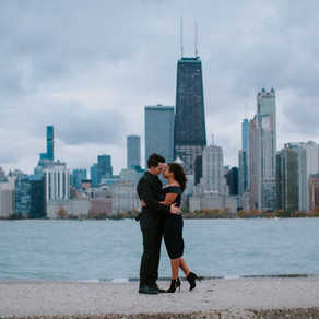 Chicago Skyline - Anna + Conner