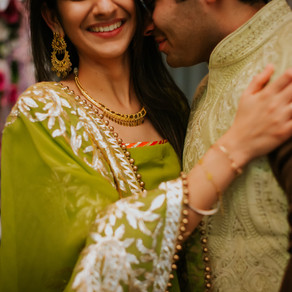 February Desi Wedding: Atishi and Sahib // Columbus, Indiana