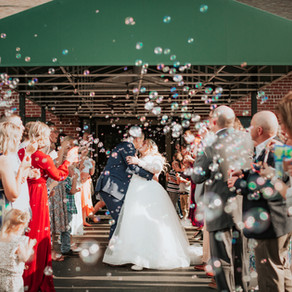 Crossroads Church Wedding: The Wildrick's // Mooresville, IN