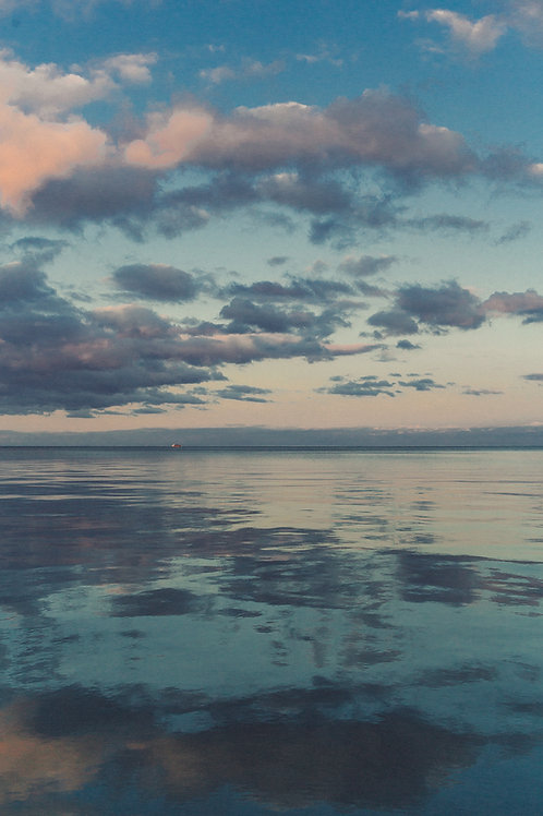 Chicago Blue Sunset
