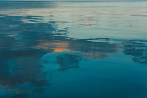 Chicago Sunset Water