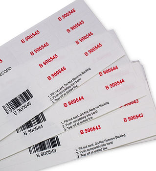 Custom Consecutive Numbering Sheeted Barcode Variable Data label