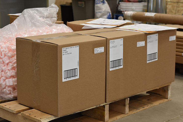 Shipping & Pallet Barcode Label