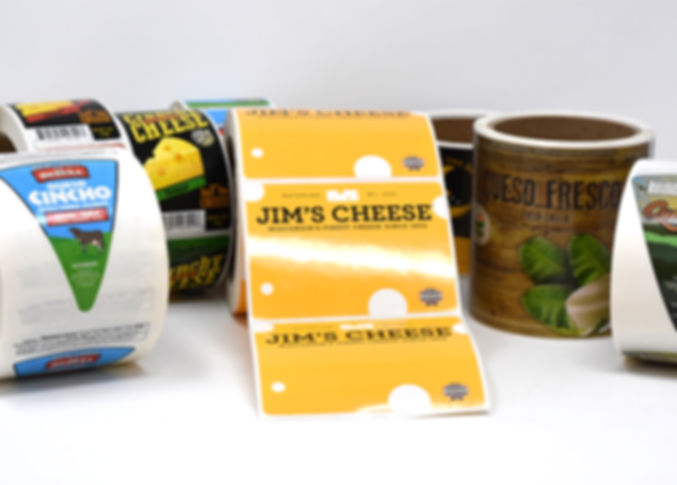 Custom Cheese Food Labels