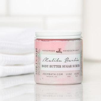 Malibu Barbie Body Butter Sugar Scrub