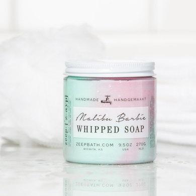 Malibu Barbie Whipped Soap