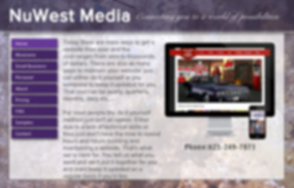 NuWest Media - Affordable web design for small business and more.