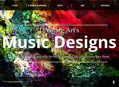 Music art, t-shirts and gifts