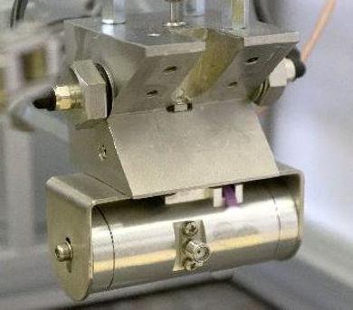 Microdosing contactless measurement