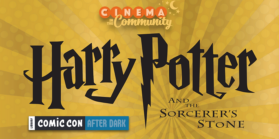 Cinema in the Community presents Library Comic Con After Dark