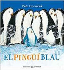 El pingüí blau - El pingüino azul