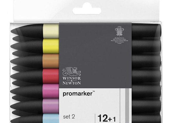 Winsor & Newton ProMarker Set 2