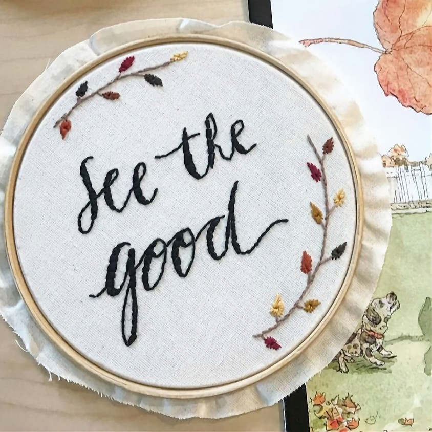 Hand Embroidery - NAMES