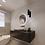 Thumbnail: Ronde spiegel 60cm met indirecte verlichting