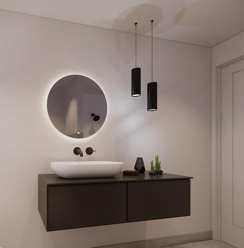 Ronde spiegel 60cm met indirecte dimbare verlichting