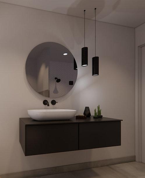 Ronde spiegel 80cm zonder verlichting