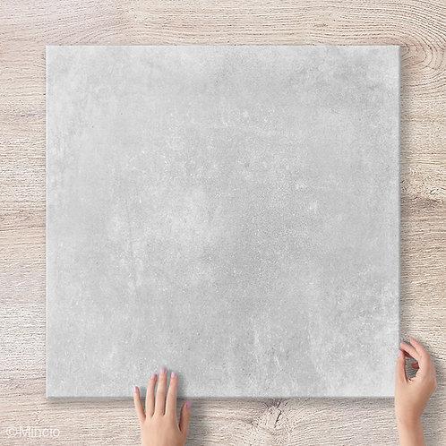 Temgri 60x60 keramische betonlook vloertegels / wandtegels grijs