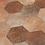 Thumbnail: Marron hexagon decor 20x24 vloer- en wandtegel