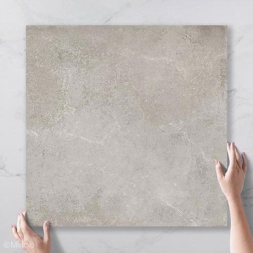 Betonlook mono grey 60x60 vloertegels / wandtegels