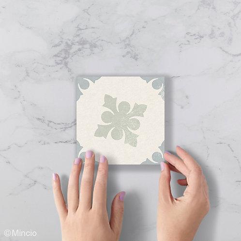 Mix pastel patroon 15 x 15 wandtegels / vloertegels