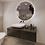 Thumbnail: Ronde spiegel 100cm met indirecte verlichting