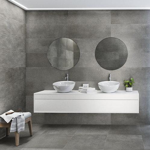 Behome grey 60x120 wandtegels/vloertegels