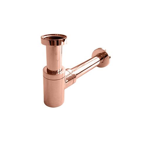 Luxe sifon laag model mat rosé goud